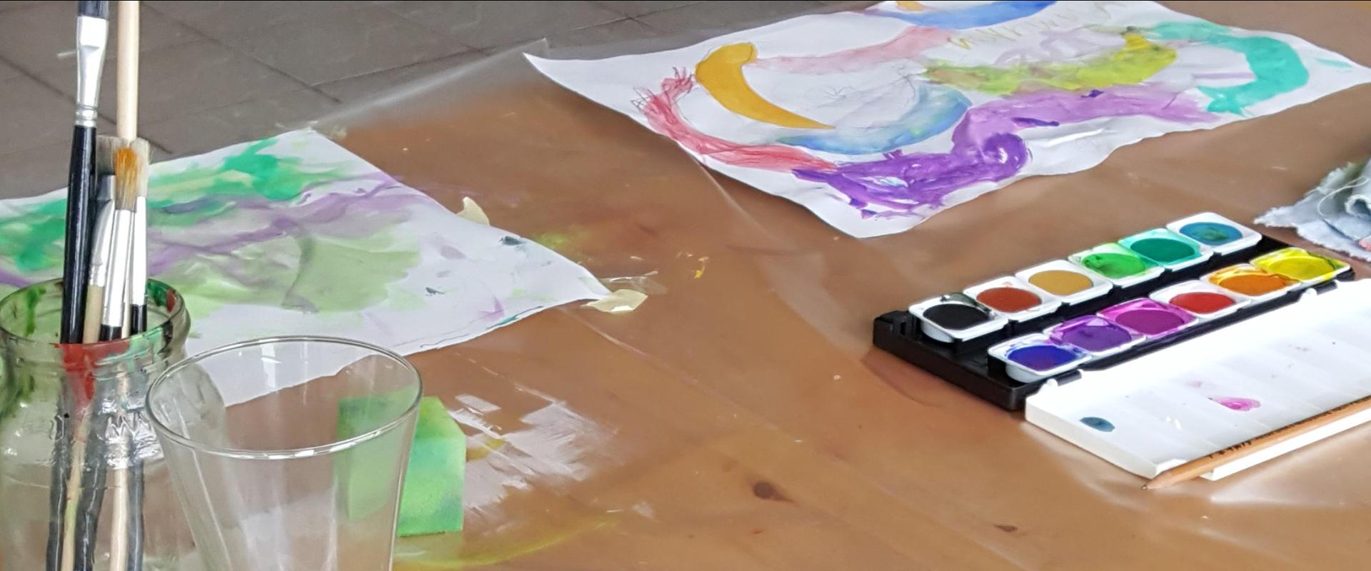 Kunst-, Kreativ- und Maltherapie